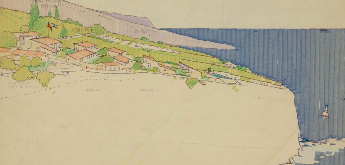 La Gomera Masterplan (1975). Norma Foster Foundation.