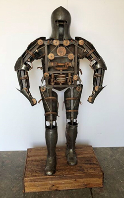 Mechanical gentleman of Leonardo Da Vinci, c. 1495