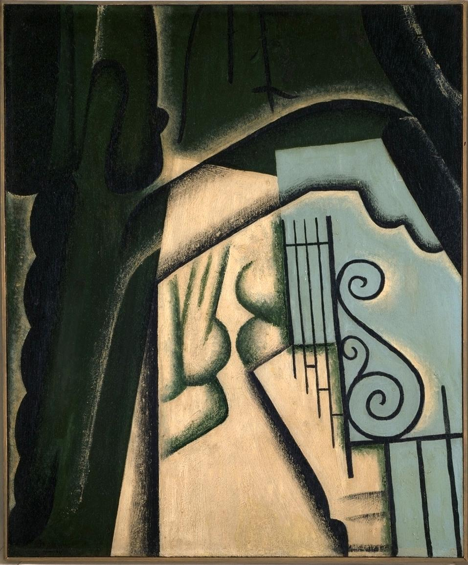 Le jardín; Gris, Juan, 1916 ©ColecciónTelefónica