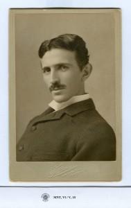 Nikola Tesla a la edad de 39 años. © Museo de Nikola Tesla, Belgrado, Serbia