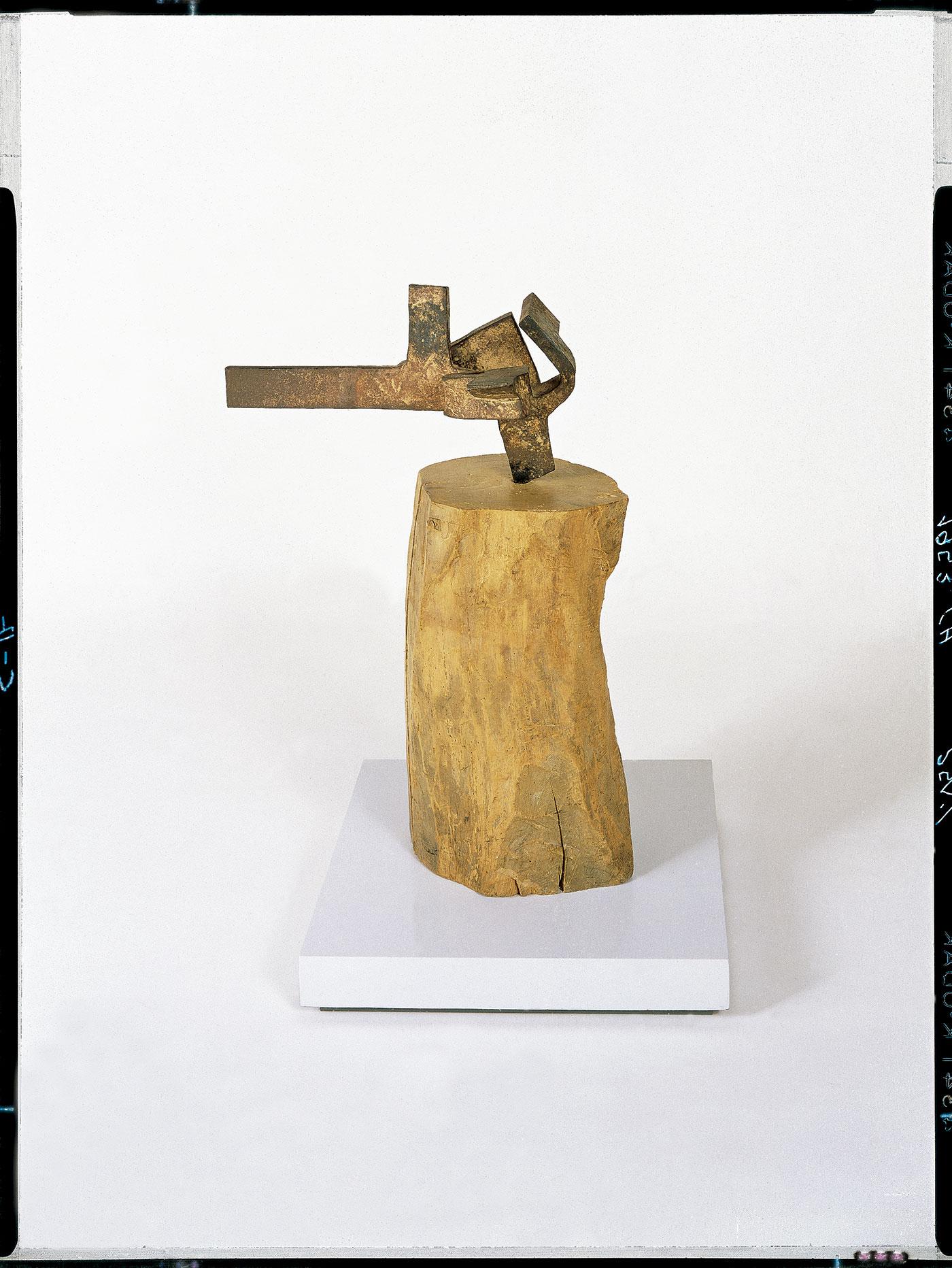 Eduardo Chillida. Yunque de sueños XIII, 1953-1954. © Zabalaga- Leku, VEGAP, Madrid, 2016.
