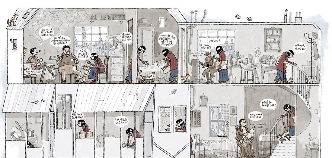 Colección Telefónica: Composición Cubista. Juan Berrio, 2016.Colección Telefónica: Composición Cubista. Juan Berrio, 2016.