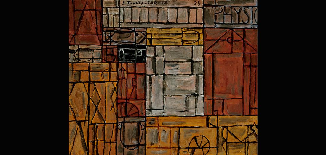 Joaquín Torres-García (Uruguayo. 1874–1949). Physique. 1929. Óleo sobre lienzo. Colección Telefónica. © Sucesión Joaquín Torres-García, Montevideo 2016