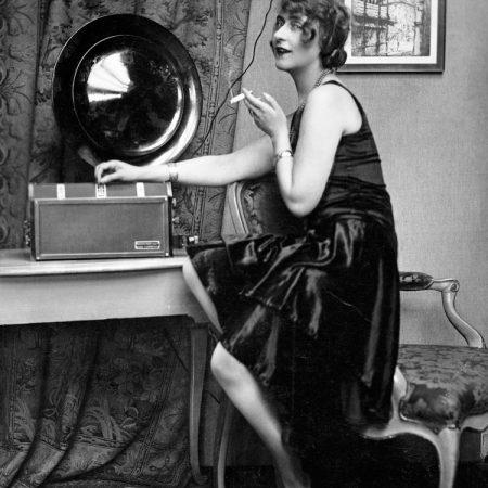 Receptor de radio y altavoz 1929. ©Philips Company Archives