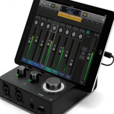 Aplicación Home Studio e interfaz MIDI de Griffin Studio Connect para iPad