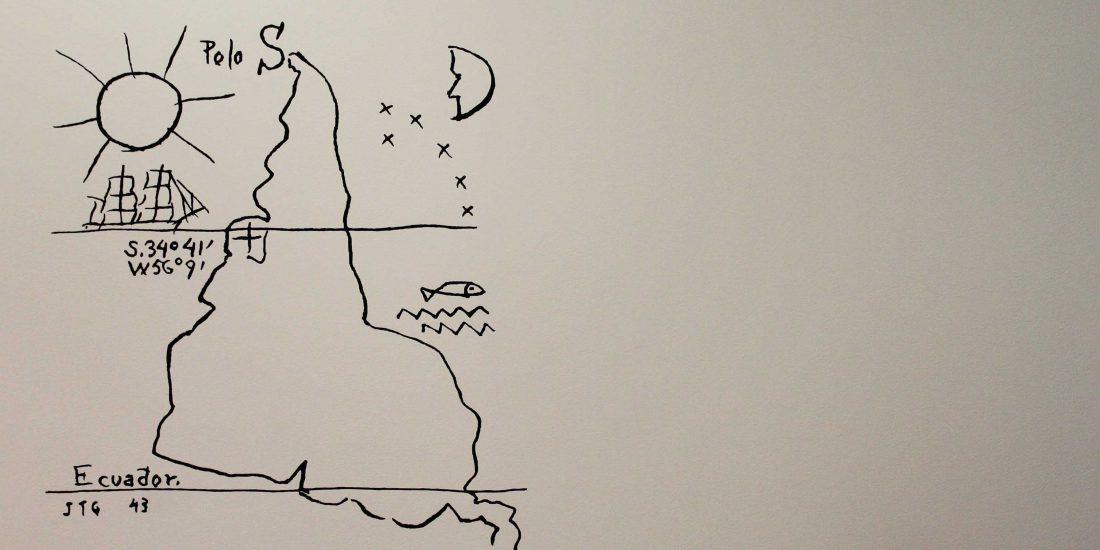 Resultado de imagen para mapa invertido jauretche
