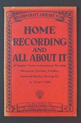 sonido El librito de 1932 para aficionados a grabar radio-craft-library-...