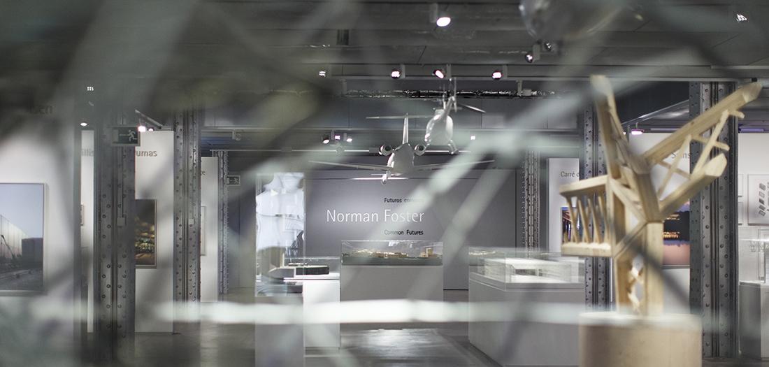 'Norman Foster. Futuros comunes' © Norman Foster Foundation