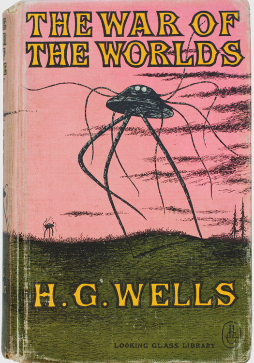 The War of the Worlds - Wells, H.G.; Gorey, Edward (illustrator). Published by Looking Glass LibraryRandom House, New York (1960).