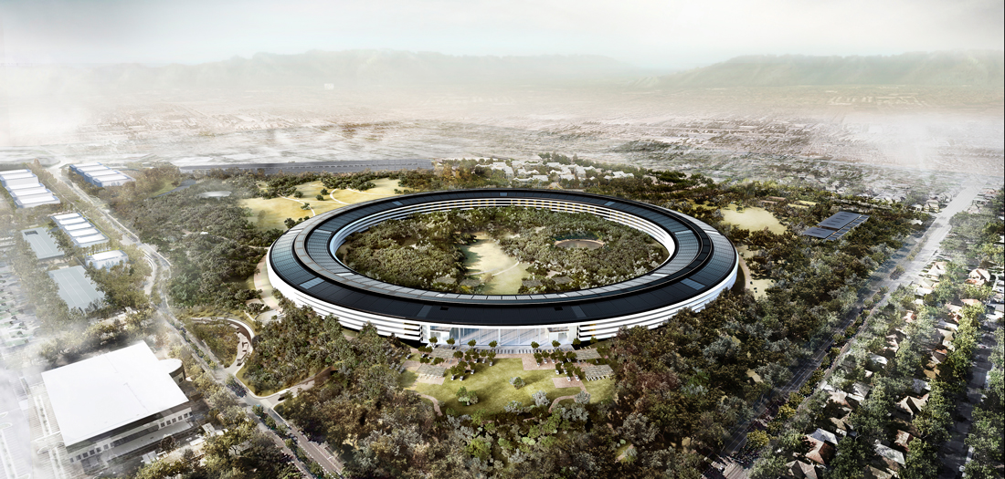 Apple Park (2010-2017) © Foster+Partners