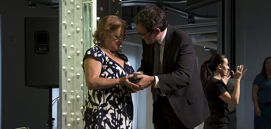 Cristina García Rodero recoge el Premio PHotoEspaña 2017.