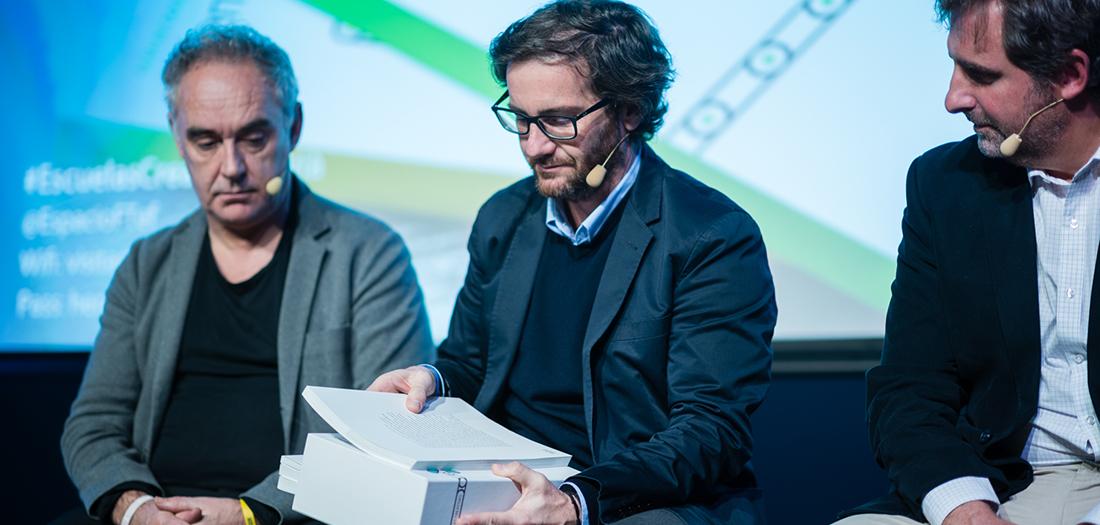 Imágenes de la presentación de la publicación de 'Escuelas Creativas'