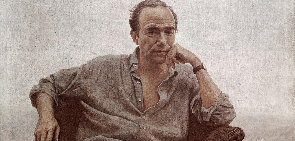 Retrato Gregorio Marañón, 2005. Acrílico/lienzo. Colección Gregorio Marañón, Marqués de Marañón.