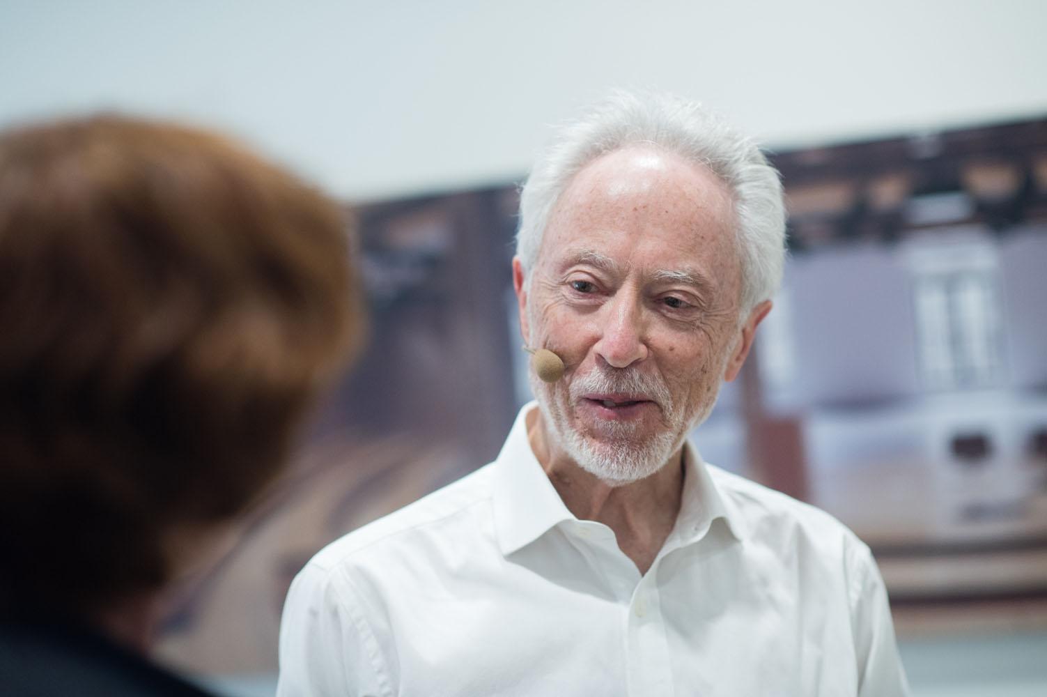 Imágenes de Coetzee en Espacio Fundación Telefónica.