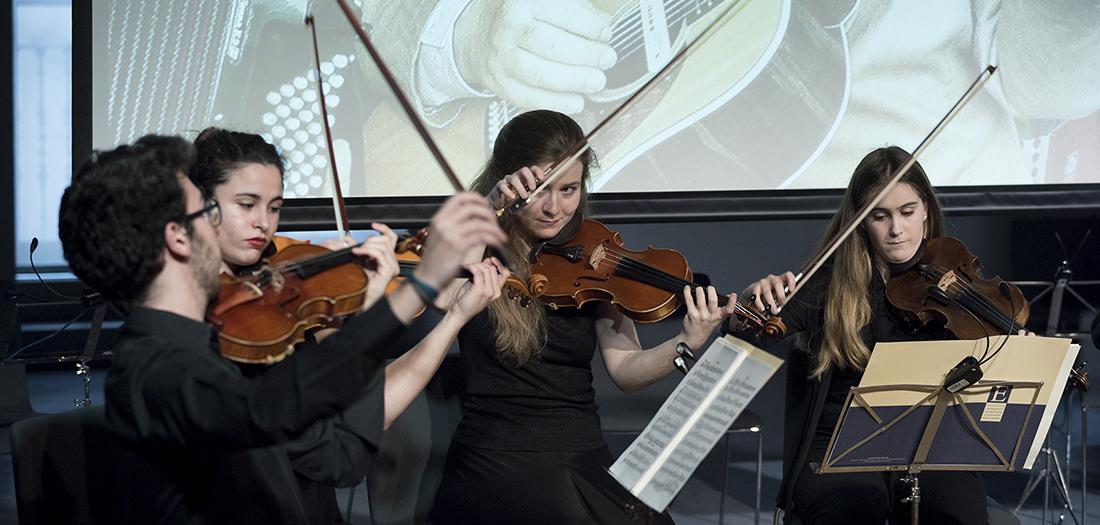Imagen del concierto 'Feeling the bits'.