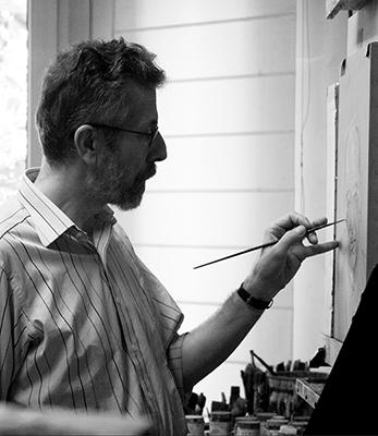 Estudio del pintor Hernán Cortés. 2009-2011. Colección particular. (Foto: María Bisbal)