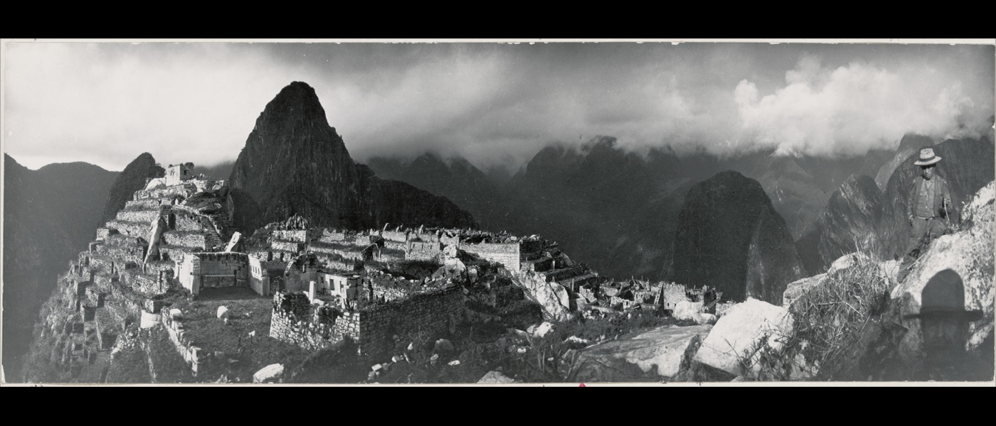 Hiram Bingham. Perú (1912)