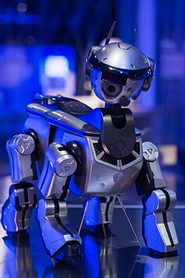 Uno de los robots de la expo 'Nosotros, Robots'.