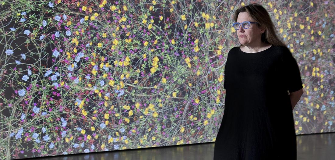 Jennifer Steinkamp y su naturaleza digital.