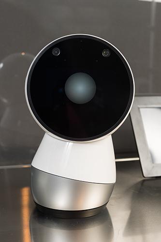 Imagen de Jibo tomada en nuestra exposición 'Nosotros Robots'