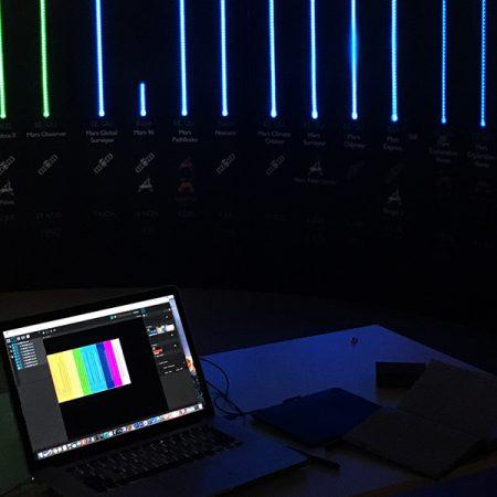 Iniciación al 'videomapping'. El video y la luz transforman el espacio