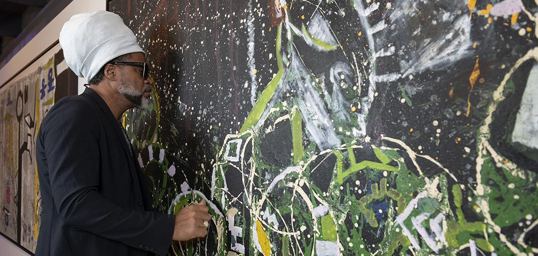 Carlinhos Brown en Espacio Fundación Telefónica Madrid