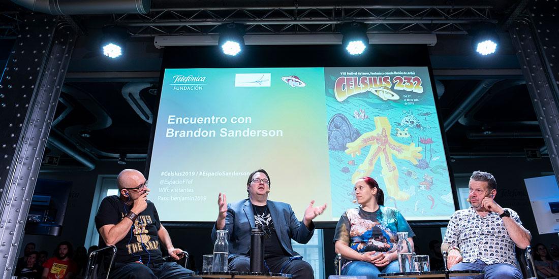 Encuentro con Brandon Sanderson