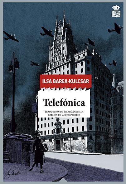 Portada de la novela, 'Telefónica'.