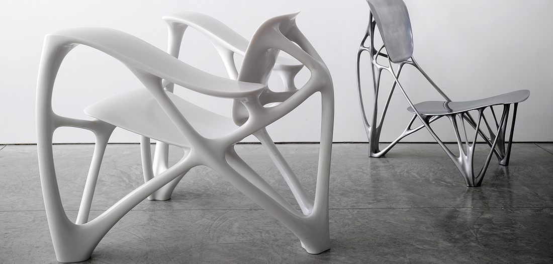 Bone Armchair, 2007. © Joris Laarman Lab