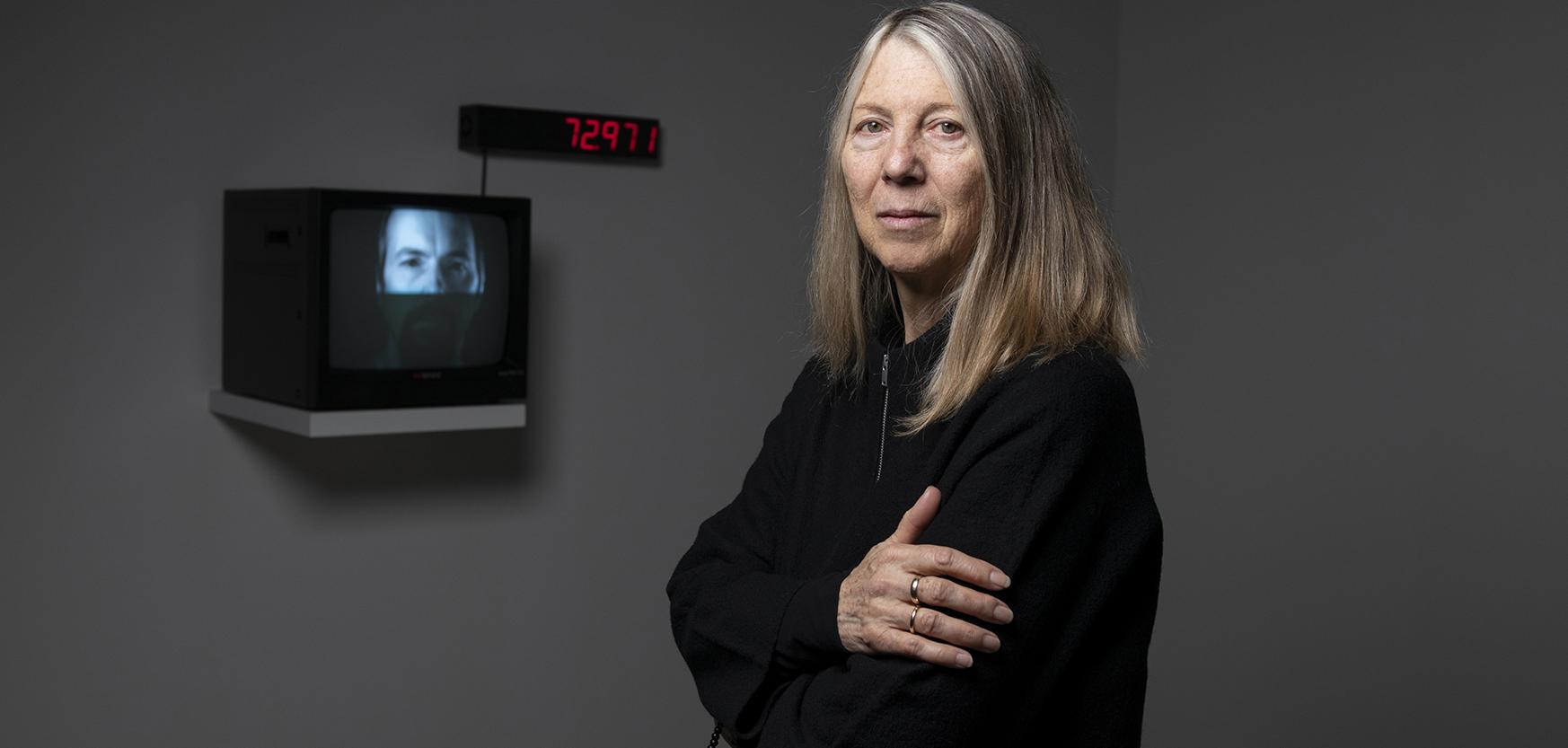 Kira Perov. Comisaria de la muestra y directora del Bill Viola Studio