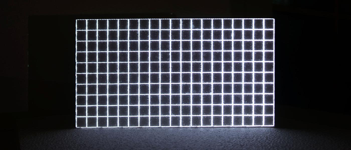 Ilusiones lumínicas en Espacio telefónica